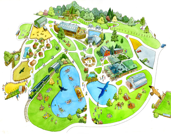 Woburn Safari Park Map Woburn Safari Park Maps   Woburn Safari Park Map
