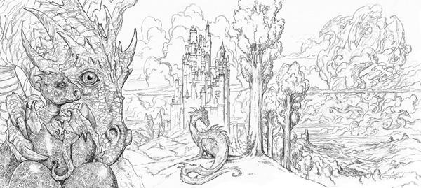 Arena-Illustration-John-Howe_Draconis-02