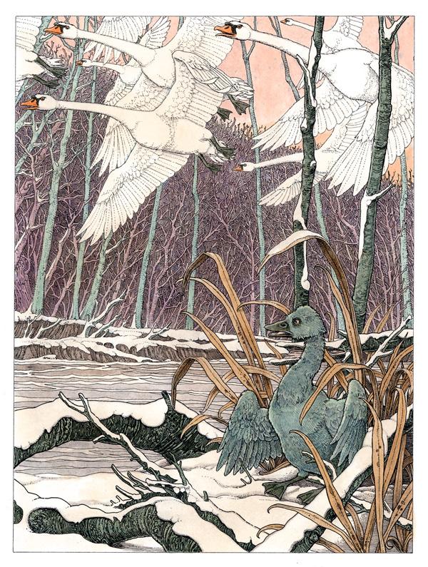 Arena-Illustration-Tomislav-Tomic-Orange Fairy-Ugly-Duckling-03
