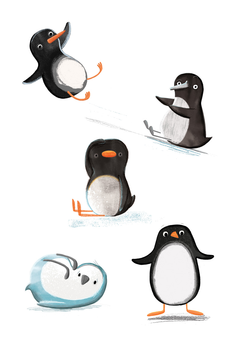 arena-illustration_kristyna-litten_iglu-penguins