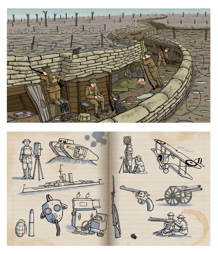 arena-illustration_frances-castle_WW1_BBC