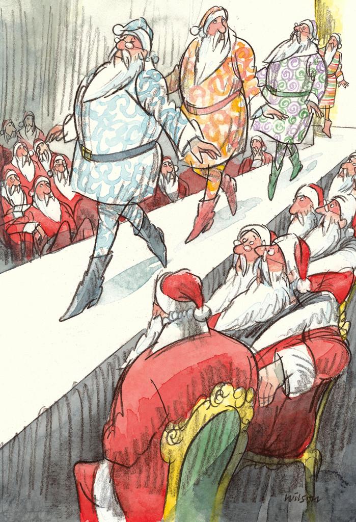 Catwalk Santa by Bob Wilson LR] - Copy