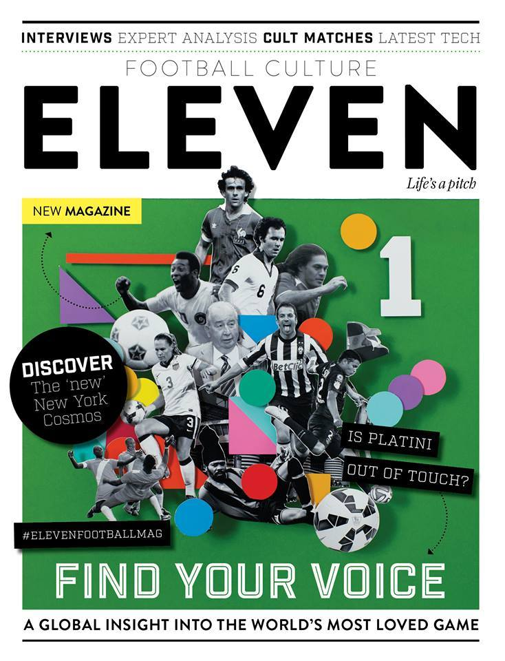 James Taylor Eleven Mag Cover