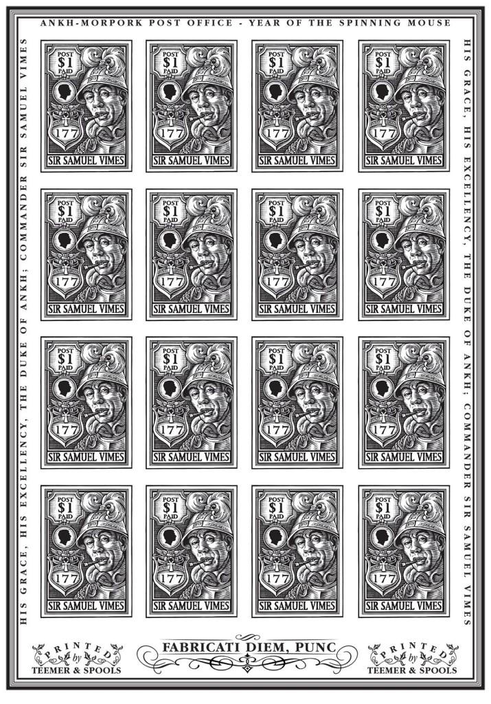 Samuel Vimes Stamps V1