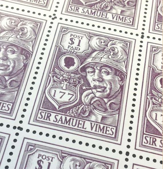 Sam Vimes Stamps