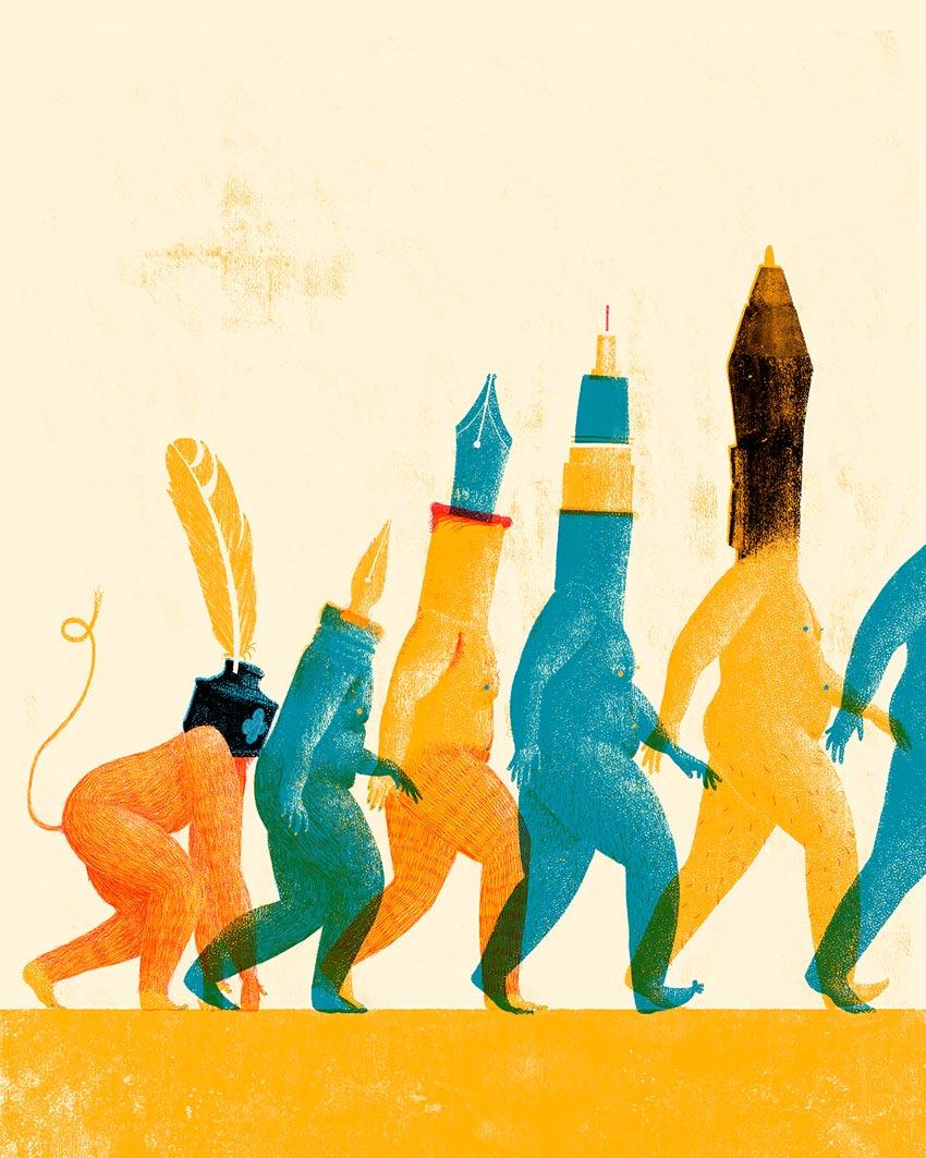 Illustration briefs - advice from illustration agents