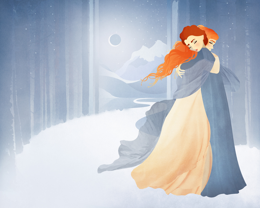The Winter Children by Jenny Lloyd 1