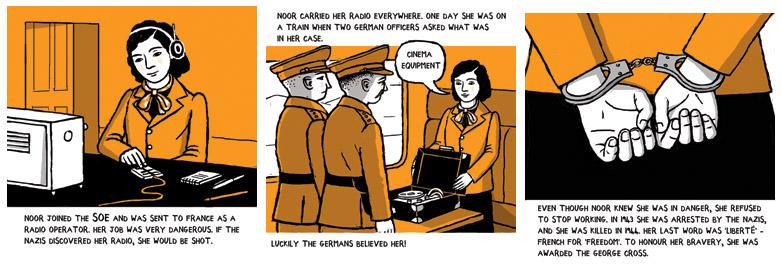arena-illustration_frances-castle_IWM_Guide_comic