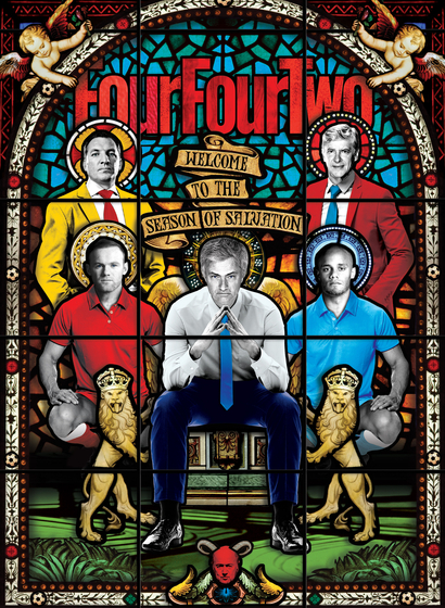fourfourtwo cover by Matt Herring