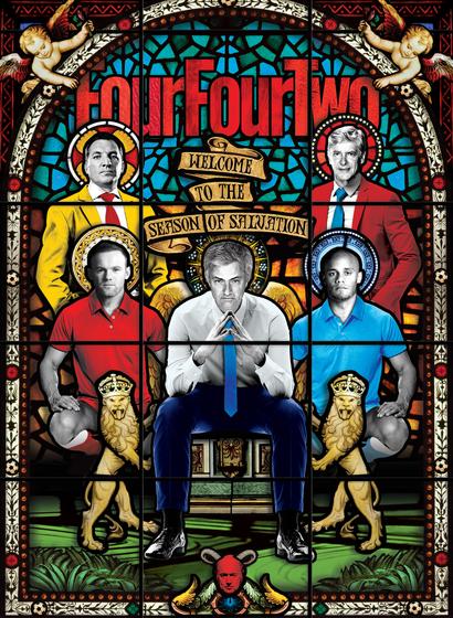 fourfourtwo cover by Matt Herring
