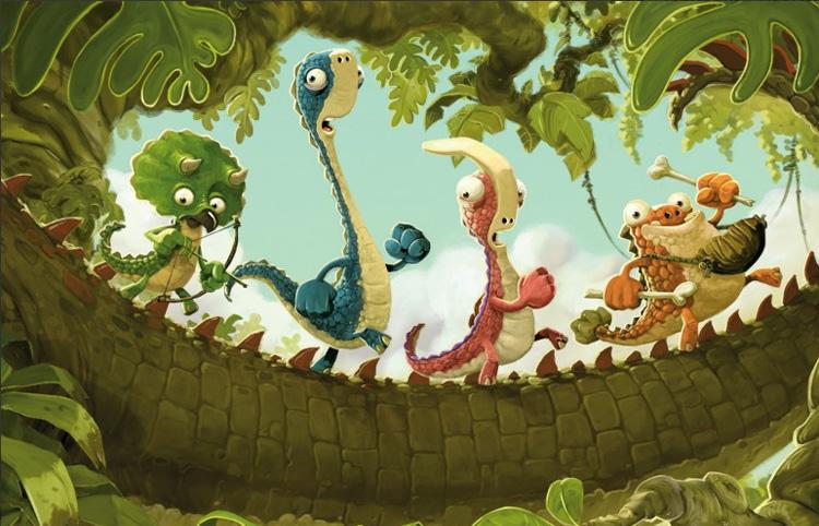 arena_jonny-duddle_gigantosaurus_cartoon-forum