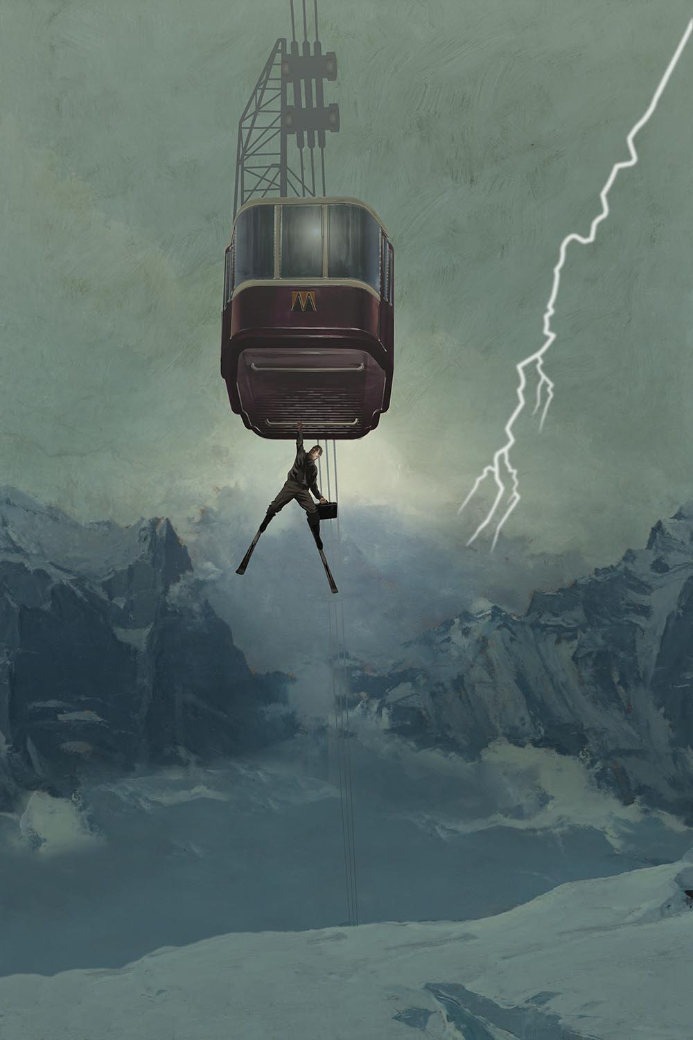 Milk Tray Cable Car by Pastiche