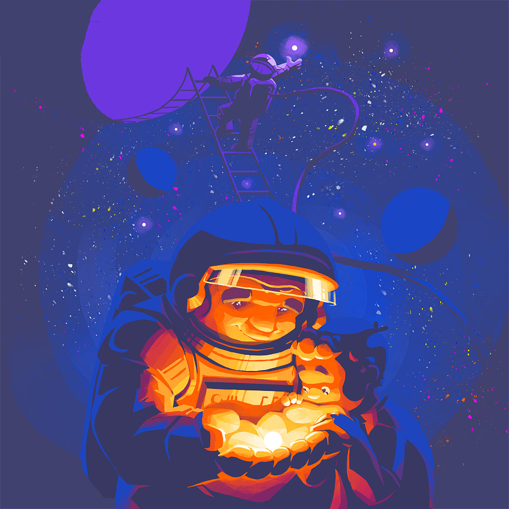 Astronaut by Alexander Baidin