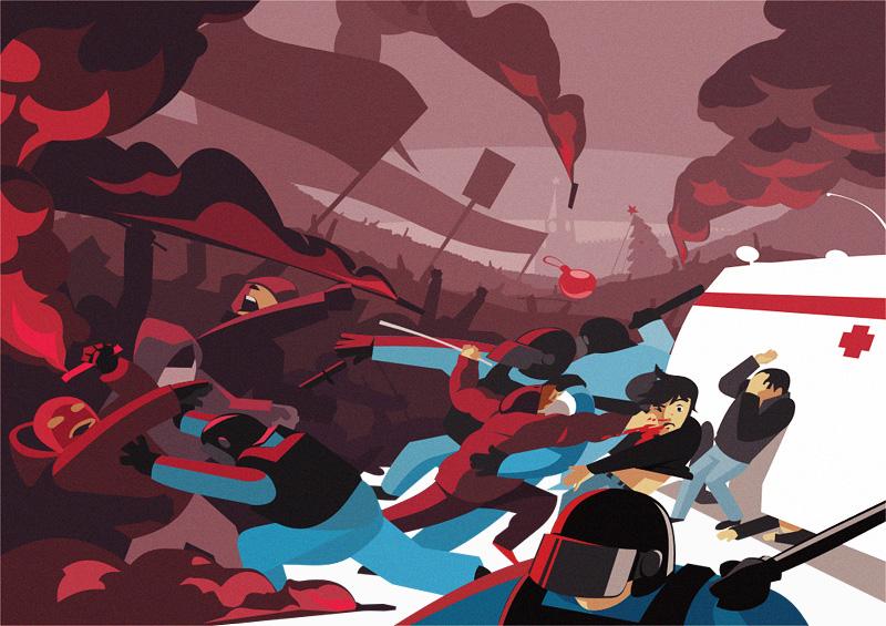 Fight by Alexander Baidin