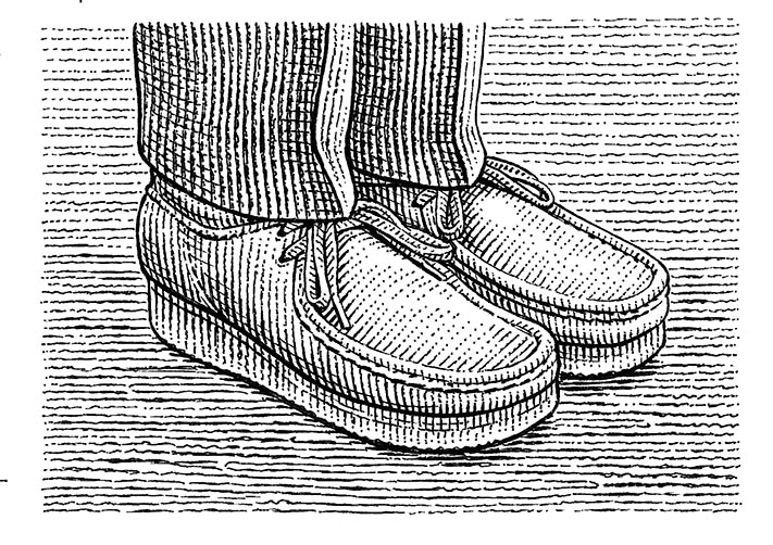 Shoes by Dave Hopkins
