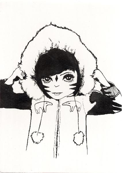 tiger-girl-joe-by-illustrator-txlw-of-column-arts-agency