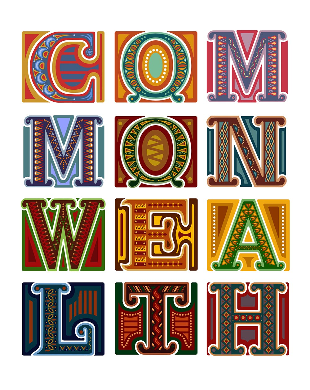 Commonwealth by Poonam Mistry (for The Commonwealth Education Trust for A River Of Sories Vol 2)