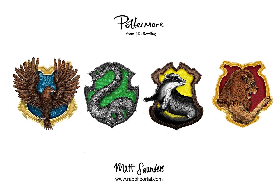 Matt_Saunders_Pottermore_crests