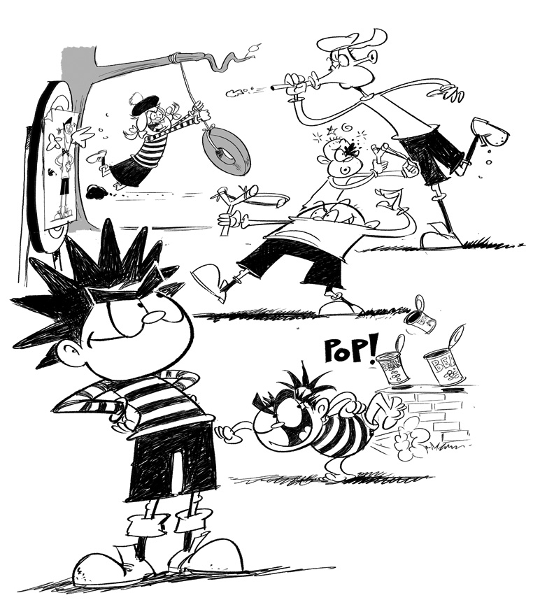 arena-illustration_steve-may_diaryofdennismenace-great-escape