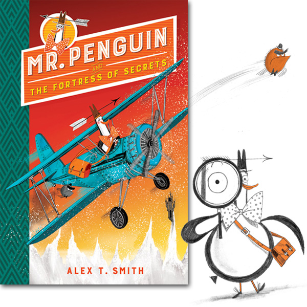 Mr Penguin and the Fortress of Secrets Book 2 Synopsis
